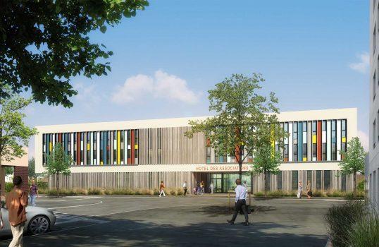 agence-schneider-caen-architecte-urbaniste-normandie hôtel des associations bois
